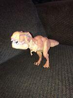 "Jurassic World Park Chomping Tyrannosaurus T-REX 16"" dinosaur figure 2015"