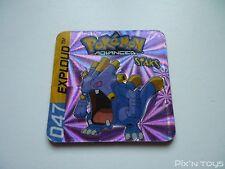 Magnet Staks Pokémon Advanced / 047 Exploud / Panini 2003 [ Neuf ]