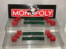 Monopoly Buildings Replacement Wooden Houses & Hotels 32 House 12 Hotels