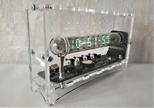 Adafruit Ice tube clock VFD IV-18 nixie clock tubes steampunk desk clock vintage