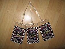 NASCAR Luggage Tags - Race Car 50th Anniversary 1998 Driver Name Tag Set (3)