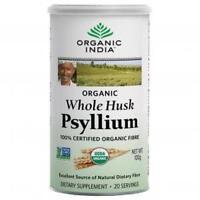 Organic India  Whole Husk Psyllium (powder)  100 GM  100 % Vegetarian