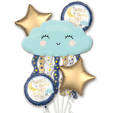 Baby Shower Foil Balloon Bouquet Twinkle Twinkle Little Star Party Decorations