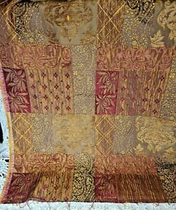 Tapestry Fabric with fused Vinyl Backing Mercado Weave Upholstery Weight 5 Yards X 55 Inches