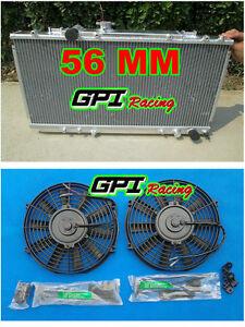 aluminum radiator + FAN for TOYOTA CELICA GT4 3S-GTE ST185 90-1994 93 ST185