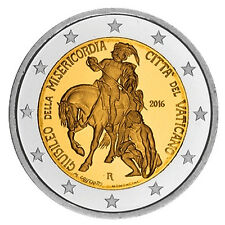 Vatikan 2 Euro Bimetall 2016 - Heiliges Jahr der Barmherzigkeit im Blister