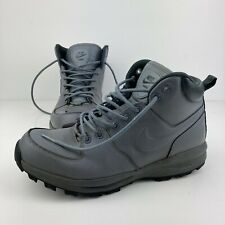 NIKE MANOA 472780-002 COOL GRAY TRAINERS BOOTS MEN'S SZ. 9.5