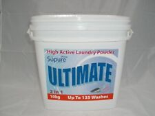 More details for so pure ultimate high active laundry powder 2in1 10kg 135 washes washing prime