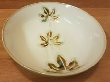 "Pier 1 AUTUMN LEAVES Soup / Cereal bowl, 7 3/4"", Stoneware, Very good"