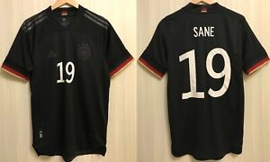 5+/5 AUTHENTIC Deutschland 2020/2021 away Sz M Germany shirt jersey trikot Sane