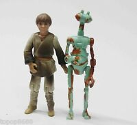 LOT OF 2 STAR WARS POTJ VERY RARE ANAKIN AS MECHANIC ACTION FIGURE
