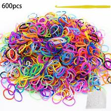 Multi Acheter Loom bandes assorties Mix Couleur Bandes + Outil Arts Craft Kit ra...
