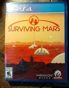 Surviving Mars (Sony PlayStation 4, 2018) New & Sealed