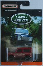 Matchbox Land Rover Ninety weinrot Land Rover Edition Neu/OVP Geländewagen MBX