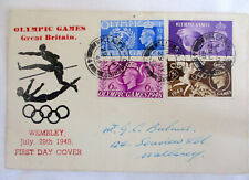 GB OLYMPICS WEMBLEY JULY 1948 - FIRST DAY COVER