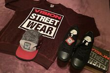 Vision Street Wear Canvas Lo Men's Shoes Size 11 Fall/Winter 3-Pack