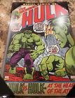 NEW Marvel Silver Buffalo Incredible Hulk Vintage Wood Wall Sign- 13