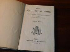 1879 abrégé des livres de coeur CHANT EGLISE messes gregoriens POUSSIELGUE latin