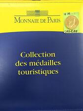 ALBUM POUR MEDAILLES MONNAIE DE PARIS ET AB CLASSEUR +MEDAILLE 2015 OFFERTE