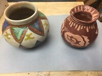 Native American Style Pottery