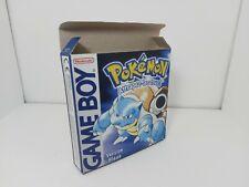 Pokémon Version Bleue - PAL  - Gameboy  - Only Box