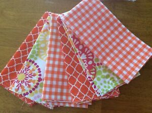"""Cloth reversible napkins approx 17"""" x 17"""""""