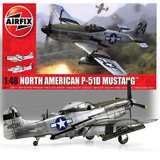 AIRFIX 1/48 NORTH AMERICAN P-51D MUSTANG MODEL KIT AO5131