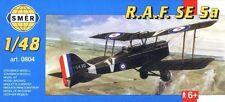 Royal Aircraft Factory S.E. 5a, WW1 Fighter (1/48 model kit, Smer 0804)