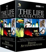 The LIFE COLLECTION DAVID ATTENBOROUGH BOXSET DVD 24 DISC R4 Express Post!