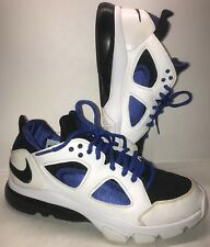 Men's Nike Zoom Huarache Trainer TR Low Sz. 8.5 White/Varsity Royal/Black 2011