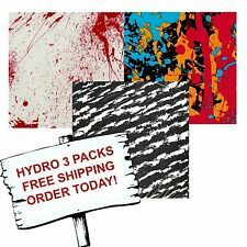 HYDRO DIP HYDROGRAPHIC FILM WATER TRANSFER PRINTING FILM SPLATTER 3 PACK