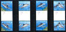 Pitcairn Islands 733-736, MNH, 2012  Fraser's Spinner Bottlenose Dolphin x16686