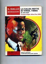 John Ball # LA CALDA NOTTE DI VIRGILTIBBS # Mondadori 1966 N.907