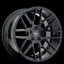 MRR GF7 18x8/9 5x112 ET45 Gloss Black Wheels Rims fit Mercedes E63 AMG 2010+