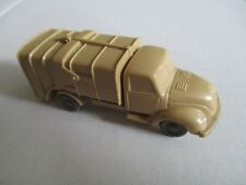 WIKING 219 Müllwagen Magirus beige unverglast 1/87