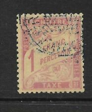 Used Postage Due Stamps