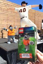 >>2016 New SF Giants SGA Lou Seal LEGO Bricks not bobblehead cap shirt
