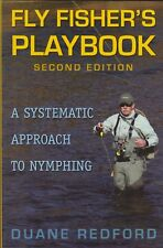 REDFORD FISHING BOOK FLY FISHERS PLAYBOOK A SYSTEMATIC APPROACH TO NYMPHING new