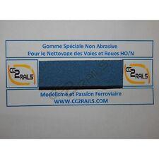 cc05012 Gomme spéciale pour nettoyage des voies et rails HO - N