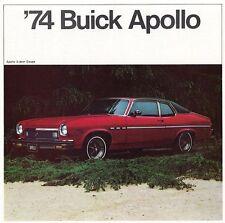 BUICK APOLLO Prospekt USA 1974 +++++++++++++++++++++++++++++++++++++++++++++++++