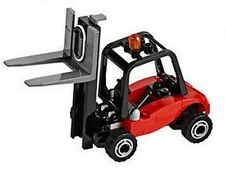 LEGO City Fork Lift Truck Forklift Warehouse Vehicle Train Station Idea 60052