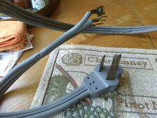Power cord electric dryer range 3-prong 10 e 26411 6 ft