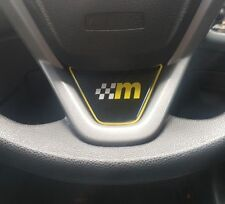 Ford Fiesta Mk7 M Mount Gel Badge Steering Wheel ST