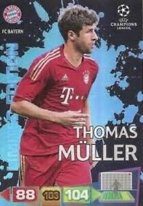 Adrenalyn XL Champions League 2011/2012 Thomas Muller 11/12 Limited Edition