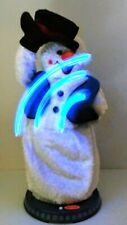 Gemmy Animated Snow Miser Snowman Christmas Spinning Snowflake Fully Working