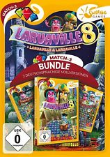 Laruaville 8 Bundle Sunrise Games PC Spiel Match 3 Neu & OVP