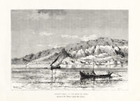 Antique Print-IRAN-PERSIA-BANDAR ABBAS-Reclus-Weber-1884