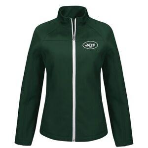 NEW Soft Shell Jacket NY Jets NFL Green M-XL