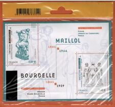 2011 - FEUILLET TIMBRE FRANCE NEUF**A.MAILLOL- A.BOURDELLE -ART-STAMP.Yt. F.4626