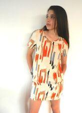 Knee-Length Tunic Casual Geometric Dresses for Women
